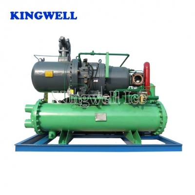KW-B30 (30tons/day) Spiral Coil-pipe Block Ice Machine