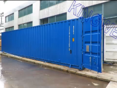 Video of 5ton/day container ice block machine + 30m³ cold room (KW-CB5)