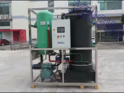 Video of Kingwell 6 tons/day tube ice machine (KW-T6)