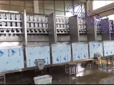 Video of KINGWELL 10tons/day cube ice machine (KW-C10)
